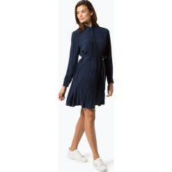 Tommy Jeans - Sukienka damska, niebieski. Niebieskie sukienki hiszpanki Tommy Jeans, s, z jeansu, z koszulowym kołnierzykiem, koszulowe. Za 499,95 zł.