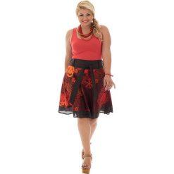 Spódnice wieczorowe: Spódnica w kolorze czerwono-czarnym