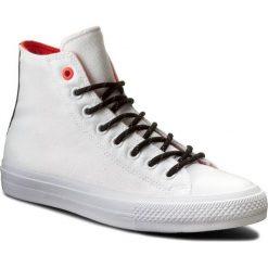 Trampki CONVERSE - Ctas II Hi 153534C White/Lava/Gum. Czarne trampki męskie marki Converse, z materiału. W wyprzedaży za 259,00 zł.