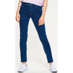 Denimowe jegginsy - Niebieski. Niebieskie legginsy marki Cropp, z jeansu. Za 59,99 zł.