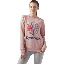Bluza Reebok W Startcrest Crewneck (CY4715). Szare bluzy rozpinane damskie Reebok, z bawełny. Za 119,99 zł.
