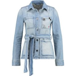 Bomberki damskie: Rich & Royal Kurtka jeansowa denim blue