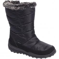 Śniegowce damskie Cortina czarne. Czarne buty zimowe damskie marki Cortina, z materiału. Za 89,90 zł.