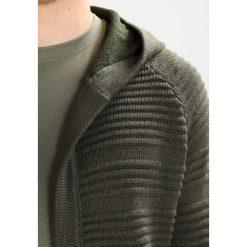 Swetry rozpinane męskie: YOURTURN Kardigan oliv