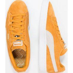 Puma SUEDE CLASSIC + Tenisówki i Trampki inca gold/white. Żółte trampki męskie Puma, z materiału. W wyprzedaży za 233,35 zł.