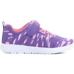 Fioletowe Buty Sportowe Fantastic You. Fioletowe buty sportowe dziewczęce marki Born2be, ze skóry, z okrągłym noskiem, na rzepy. Za 69,99 zł.