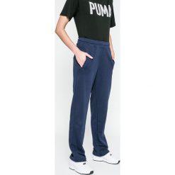 Puma - Spodnie. Szare bryczesy damskie Puma, l, z bawełny. W wyprzedaży za 69,90 zł.