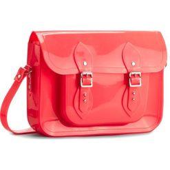 Torebka MELISSA - Satchel+The Cambridge 34114 Neon Pink 06709. Czerwone listonoszki damskie marki Melissa, z kauczuku. W wyprzedaży za 299,00 zł.