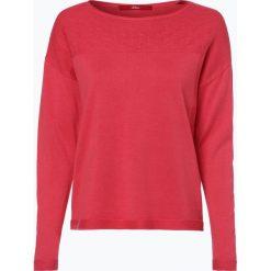 Swetry klasyczne damskie: s.Oliver Casual – Sweter damski, czerwony