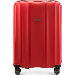 Walizka duża 56-3T-733-30. Czarne walizki marki Wittchen, z gumy, duże. Za 279,00 zł.