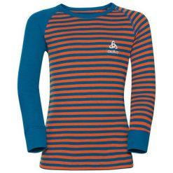 Odlo Koszulka tech. Odlo Shirt l/s crew neck WARM KIDS - 10459 - 10459/20364/140. Czarne t-shirty chłopięce marki Odlo. Za 99,95 zł.