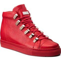 Sneakersy EVA MINGE - Dorita 2F 17BD1372195EF 108. Czerwone sneakersy damskie Eva Minge, z materiału. W wyprzedaży za 419,00 zł.