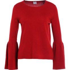Swetry klasyczne damskie: FTC Cashmere TROMPETENARM Sweter burgundy