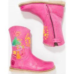 Buty zimowe damskie: Shoesme Kozaki fuxia