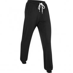 Spodnie shirtowe, długie, Level 1 bonprix czarny. Czarne bryczesy damskie bonprix, na fitness i siłownię. Za 89,99 zł.