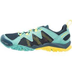 Merrell TETREX RAPID CREST Obuwie hikingowe turquoise. Niebieskie buty sportowe damskie marki Merrell, z materiału. Za 379,00 zł.
