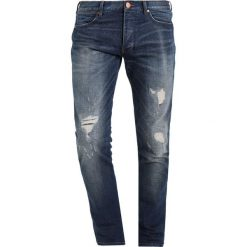 Wrangler SPENCER Jeansy Slim Fit game on. Szare jeansy męskie relaxed fit marki Wrangler, l, z poliesteru, z kapturem. Za 369,00 zł.