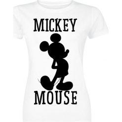 Bluzki damskie: Myszka Miki i Minnie Micky Maus Koszulka damska biały