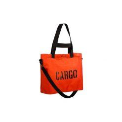 Torba CLASSIC orange LARGE. Brązowe torebki klasyczne damskie CARGO by OWEE, małe, z breloczkiem. Za 279,65 zł.