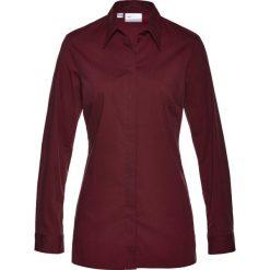 Bluzki damskie: Długa bluzka ze stretchem bonprix czerwony klonowy