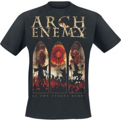 T-shirty męskie: Arch Enemy As The Stages Burn! – Tour 2017 T-Shirt czarny