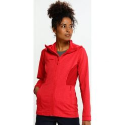 Kurtki damskie softshell: Bergans LOM  Kurtka z polaru strawberry/red