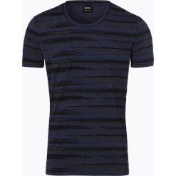 T-shirty męskie: BOSS Casual - T-shirt męski – Tamigo, niebieski