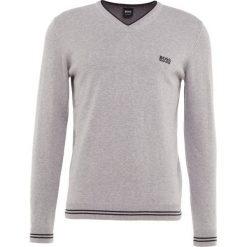 Kardigany męskie: BOSS ATHLEISURE VIME Sweter grey melange
