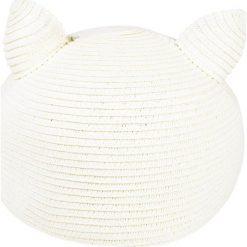 KARL LAGERFELD Czapka z daszkiem natural. Białe czapki z daszkiem damskie KARL LAGERFELD, z materiału. W wyprzedaży za 349,30 zł.