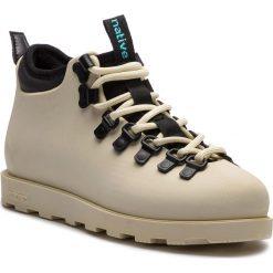 Trapery NATIVE - Fitzsimmons Citylite 31106800-1849 Bone White. Brązowe buty zimowe damskie Native, z materiału. Za 429,00 zł.