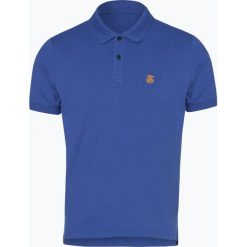 Selected - Męska koszulka polo – Slharo, niebieski. Szare koszulki polo marki Selected, l, z materiału. Za 79,95 zł.