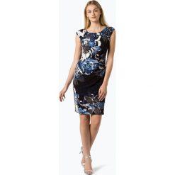 LAUREN RALPH LAUREN - Sukienka damska – Koriza, czarny. Czarne sukienki balowe Lauren Ralph Lauren, w kwiaty, z materiału. Za 549,95 zł.