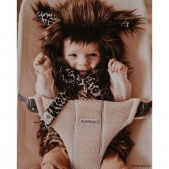 Czapeczka z uszami My Wolfie Brown. Brązowe czapeczki niemowlęce Pakamera. Za 109,00 zł.
