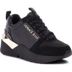 Sneakersy VERSACE JEANS - E0VSBSL1 70836 899. Czarne sneakersy damskie Versace Jeans, z jeansu. Za 699,00 zł.