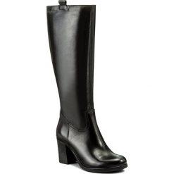 Kozaki EVA MINGE - Novia 2A 17SM1372209EF 101. Czarne buty zimowe damskie Eva Minge, ze skóry. W wyprzedaży za 329,00 zł.