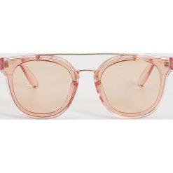 Okulary przeciwsłoneczne damskie: Okulary przeciwsłoneczne – Beżowy