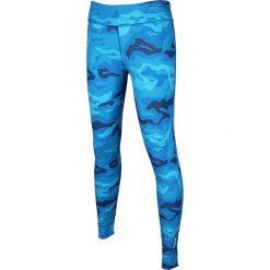 Reebok Spodnie damskie One Series Camo Tight niebieskie r. L (AJ0685). Szare spodnie sportowe damskie marki Reebok, l, z dzianiny, casualowe, z okrągłym kołnierzem. Za 191,63 zł.