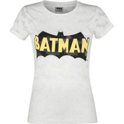 Bluzki asymetryczne: Batman Logo Koszulka damska biały (Old White)