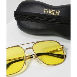 VOGUE Eyewear GIGI HADID Okulary przeciwsłoneczne yellow. Żółte okulary przeciwsłoneczne damskie lenonki VOGUE Eyewear. Za 579,00 zł.