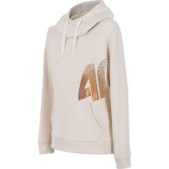 Bluzy rozpinane damskie: Damska bluza sportowa 4F Gold White