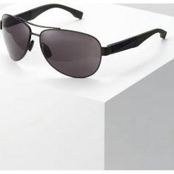 BOSS CASUAL Okulary przeciwsłoneczne grey. Czarne okulary przeciwsłoneczne męskie aviatory BOSS Casual. Za 759,00 zł.