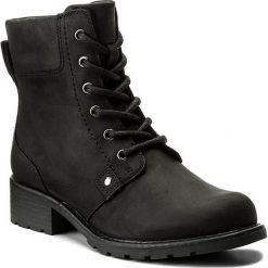 Botki CLARKS - Orinoco Spice 261109384 Black Leather. Czarne botki damskie skórzane marki Clarks. W wyprzedaży za 279,00 zł.