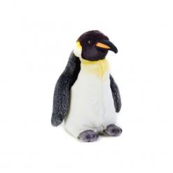 Maskotka DANTE National Geographic Pingwin. Szare przytulanki i maskotki marki DANTE, z materiału. Za 69,90 zł.