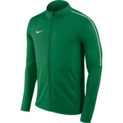 Bluzy męskie: Nike Bluza męska NK Dry Park 18 TRK JKT zielona r. M (AA2059 302)
