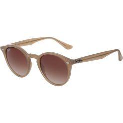 RayBan Okulary przeciwsłoneczne light brown. Brązowe okulary przeciwsłoneczne damskie lenonki marki Ray-Ban. Za 659,00 zł.
