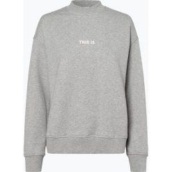 BOSS Casual - Damska bluza nierozpinana – Tastand, szary. Szare bluzy z nadrukiem damskie BOSS Casual, l. Za 429,95 zł.