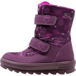 Superfit FLAVIA Śniegowce eggplant. Fioletowe buty zimowe damskie marki Superfit, z materiału. W wyprzedaży za 169,50 zł.