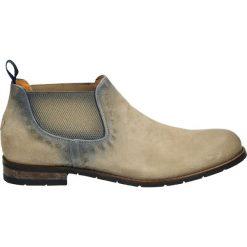 Buty zimowe męskie: Botki męskie - 9867 SKY-6281