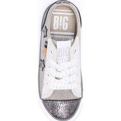 Big Star - Tenisówki dziecięce. Szare buty sportowe dziewczęce BIG STAR, z materiału, na sznurówki. Za 89,90 zł.