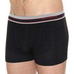 Bokserki męskie: Brubeck Bokserki męskie Active Wool czarne r. S (BX10870)